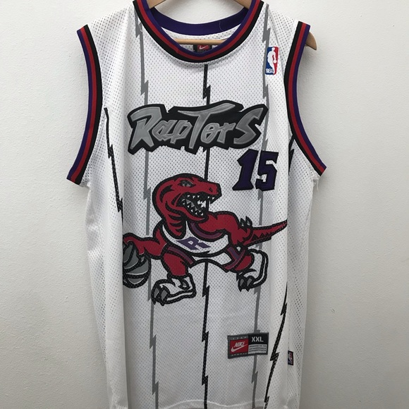 low priced 0f637 f2321 Vintage Toronto Raptors Vince Carter Jersey